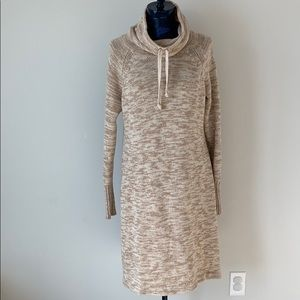 Athleta cowl neck sweater dress
